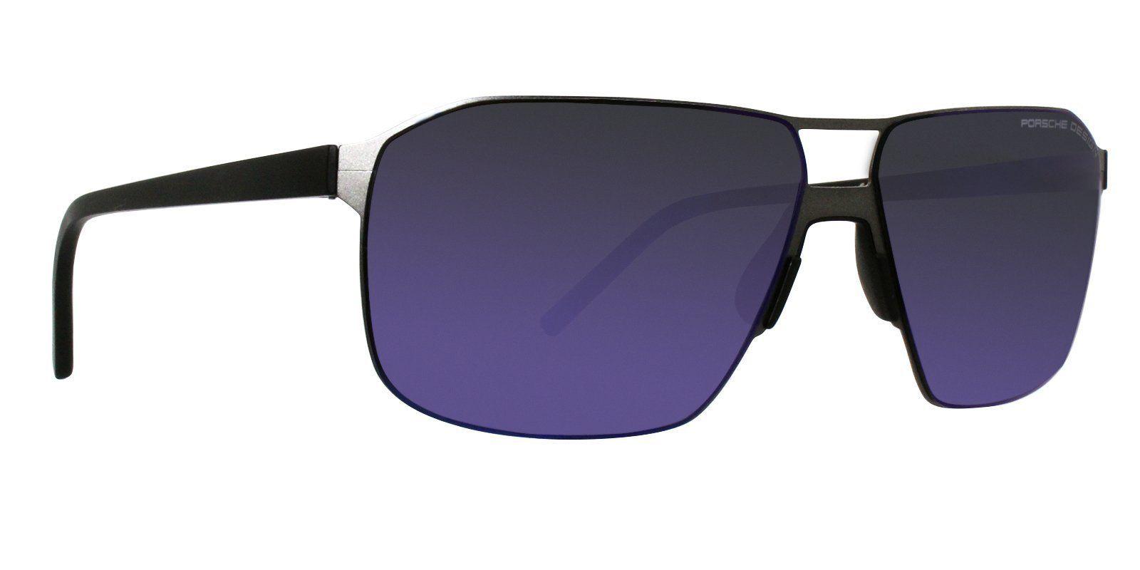 bf8b717b350 Porsche Design - P8645 Gray - Blue-sunglasses-Designer Eyes ...