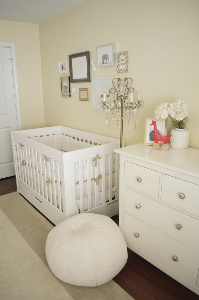Isla S Modern Neutral Golden Nursery Yellow Baby Room Yellow