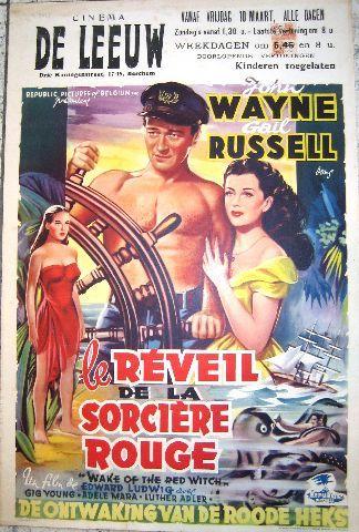Le Réveil De La Sorcière Rouge : réveil, sorcière, rouge, Witch-, Réveil, Sorcière, Rouge, Vintage, Movie, Poster, Filmes