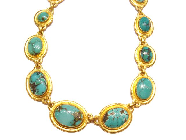 Gurhan Chinese Turquoise in 24K Designers We Love Pinterest