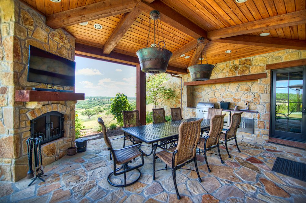 Private Golf Community Outdoor Living Patios Patio Seating Area