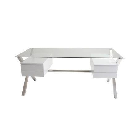 pangea home ella 4 drawer writing desk walmart com desks desk rh pinterest com