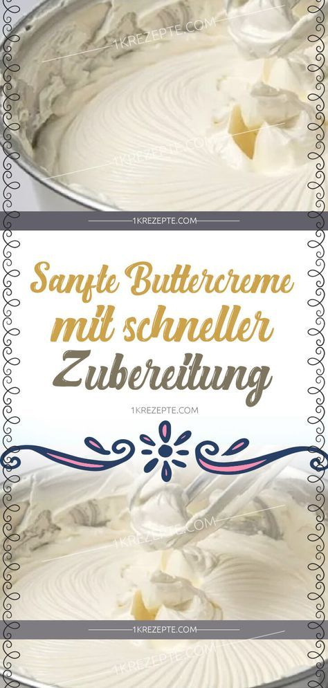Sanfte Buttercreme mit schneller Zubereitung #lemonfrosting