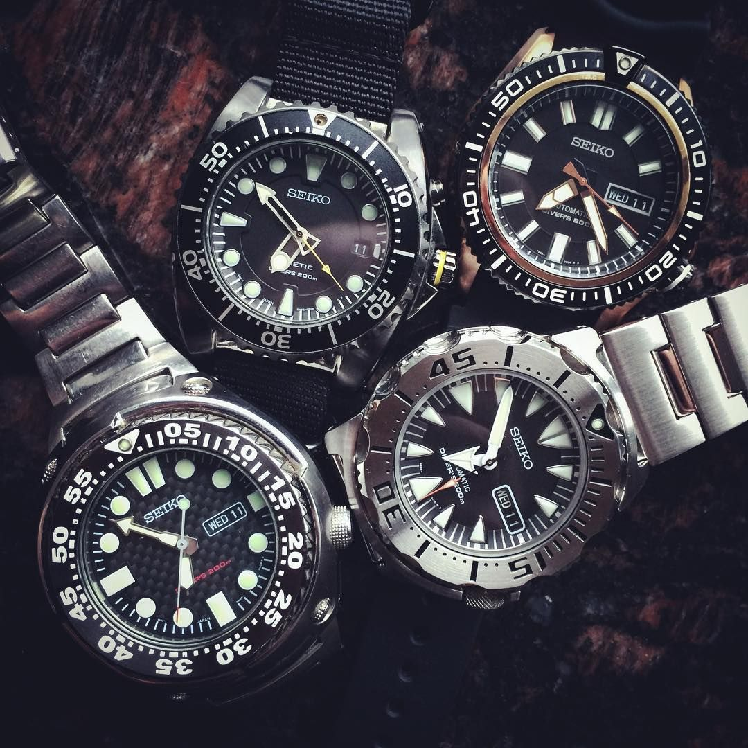 Love Seiko dive watches. #monster #seikomonster #seiko # ...