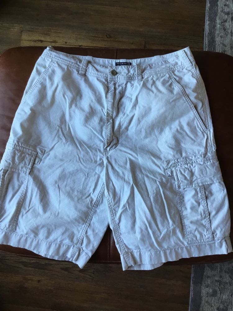 29e646220 MENS Ralph Lauren Polo Classic Fit Cargo Shorts White size 34 100% cotton   fashion  clothing  shoes  accessories  mensclothing  shorts (ebay link)