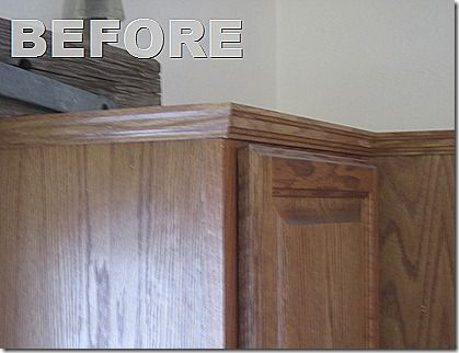 Kitchen Cabinet Faux Panels