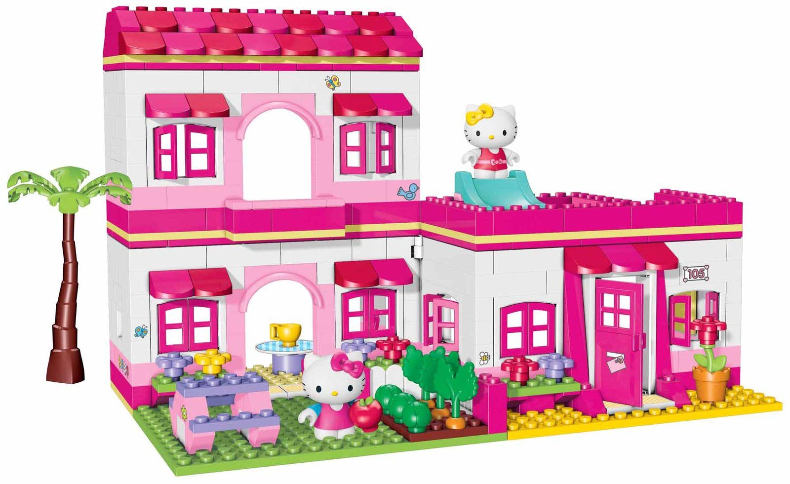 Hello kitty legos google search gift ideas pinterest - Lego hello kitty maison ...