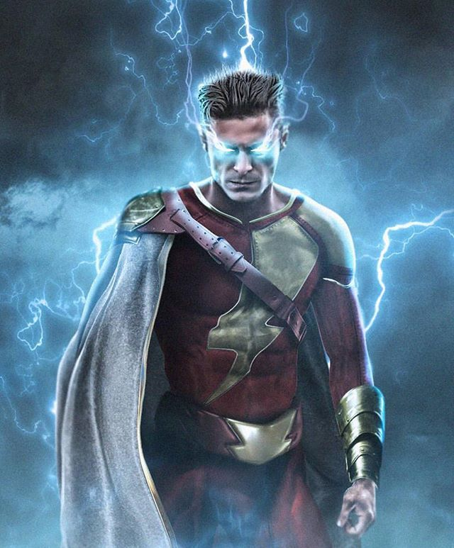 Zac Efron As Shazam. I Could Dig This. Art By The