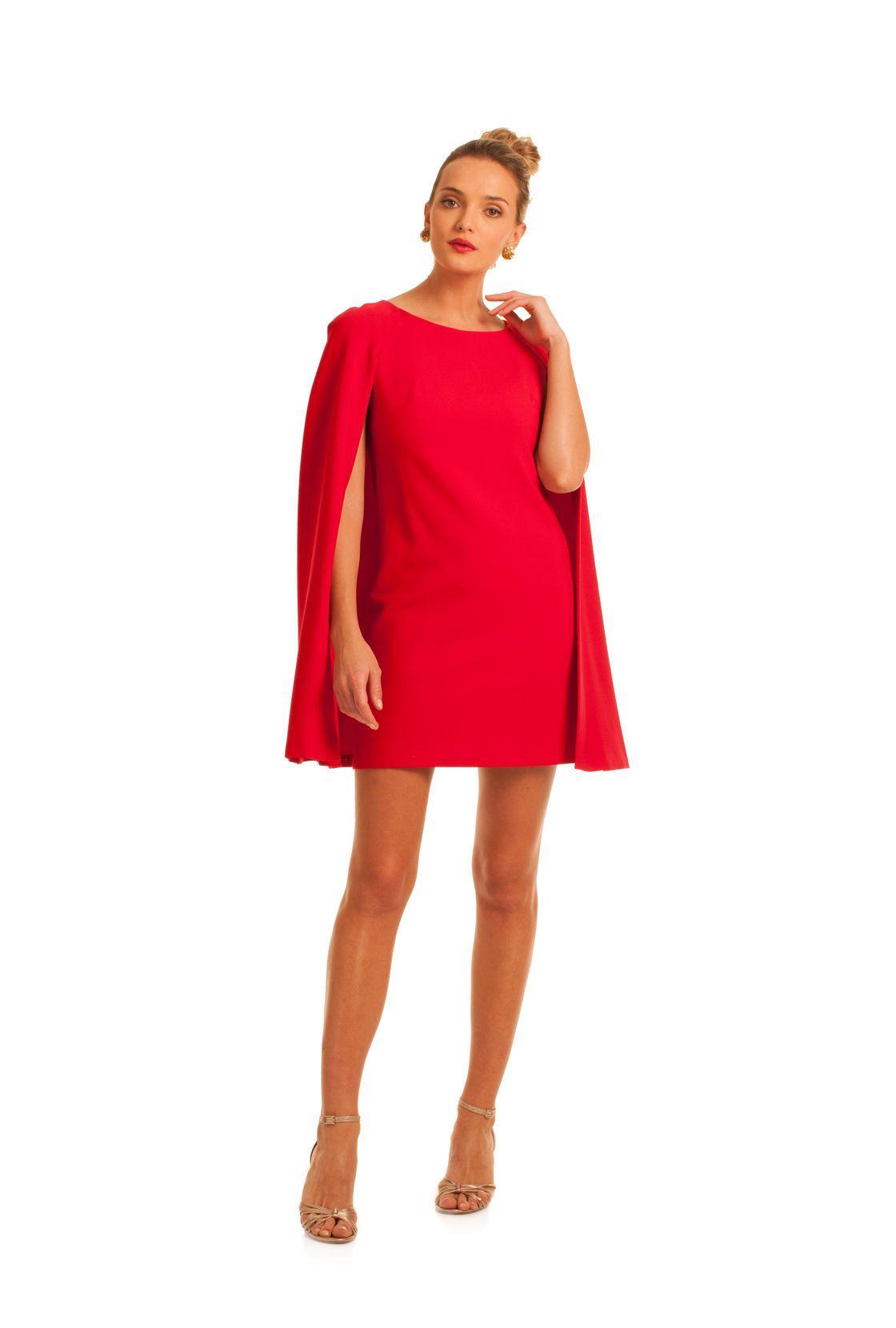 b9fdc07c920 Trina Turk cape dress (IN BLACK)