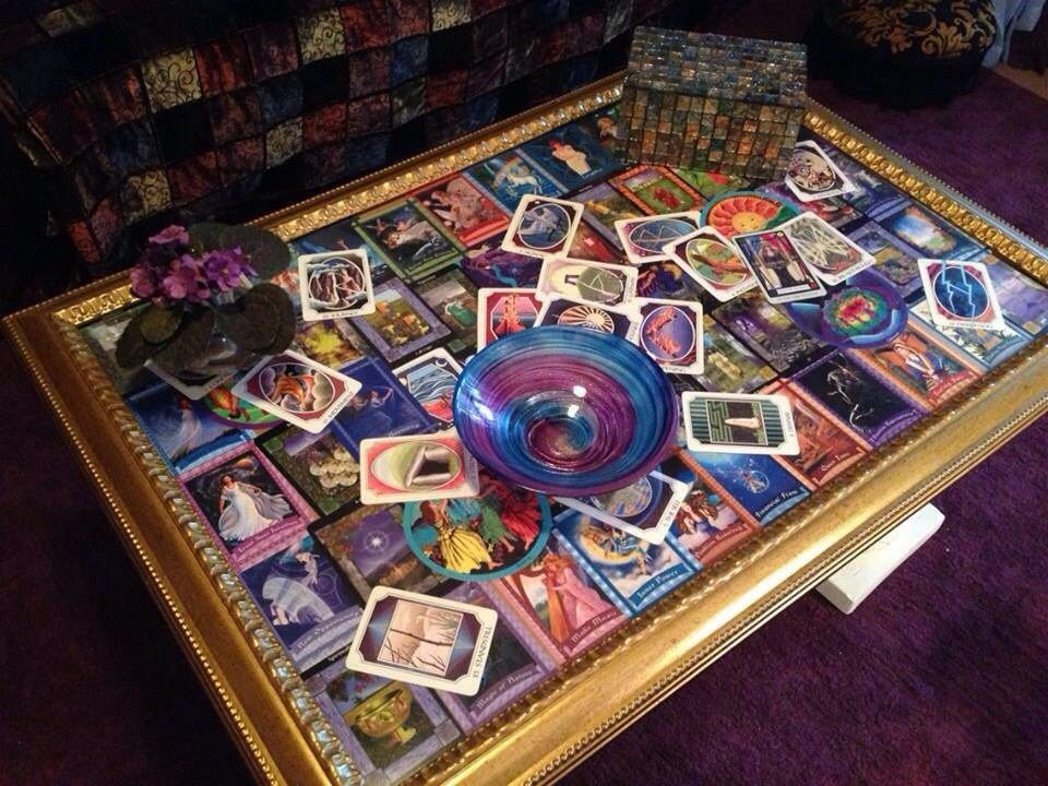 Build A One Of A Kind Tarot Table Cheap Tarot Divination Cards Deck Of Cards