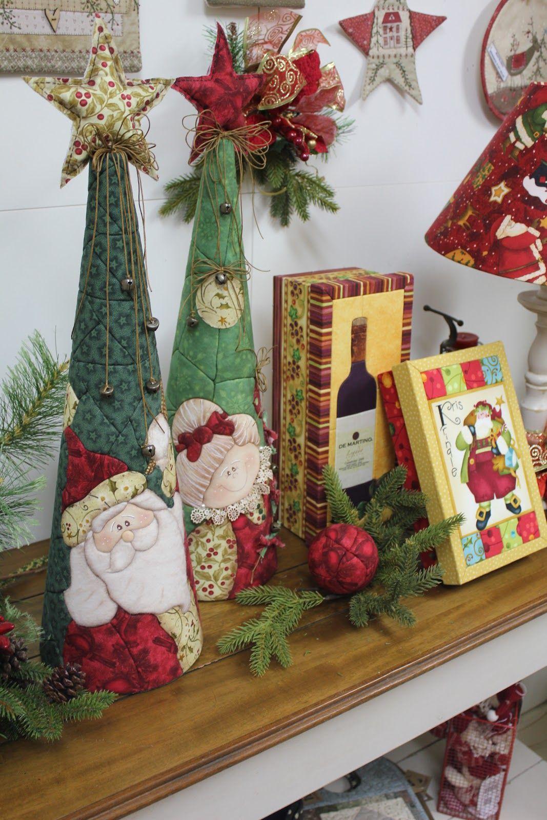 Blog da arte costura patchwork sem agulha navidad - Blog decoracion navidad ...