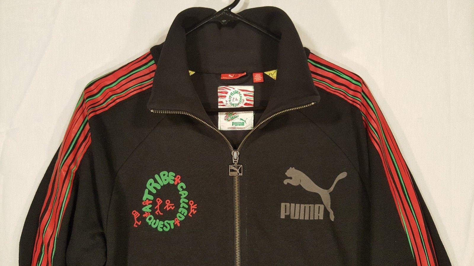 Pinchazo sociedad Bóveda  YO! MTV A Tribe Called Quest X Puma Limited Edition Track Jacket Mens  Medium M | eBay | Mens jackets, Jackets, Track jackets