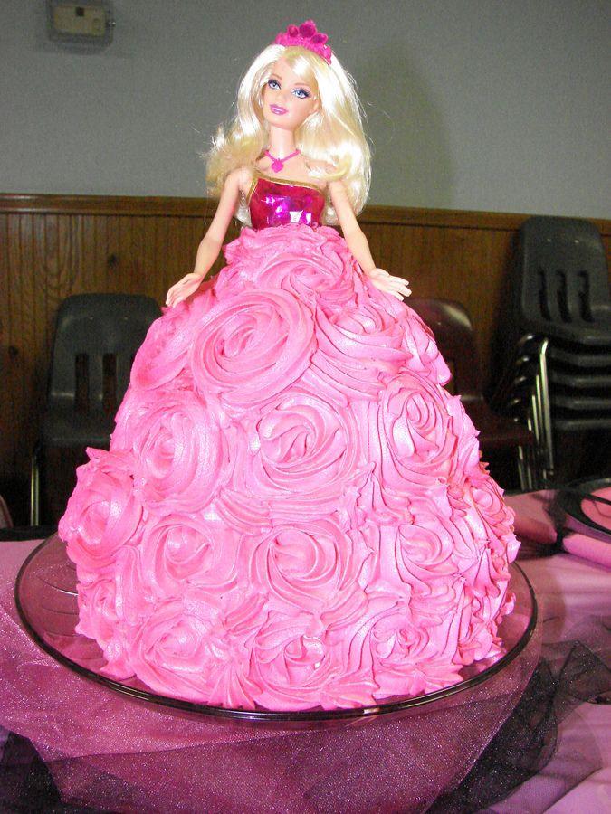 Doll Cakes Barbie Doll Cake Childrens Birthday Cakes Cakes