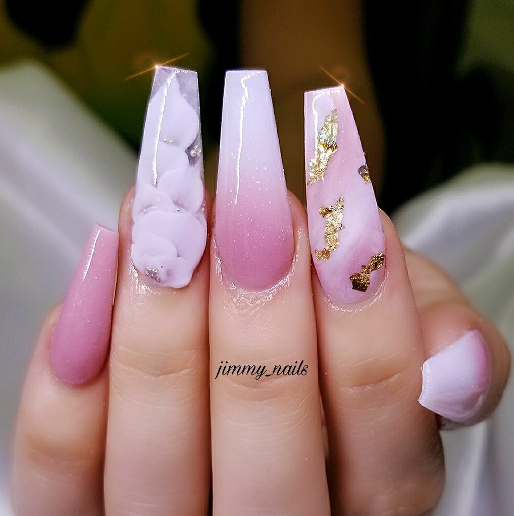 Beautiful design but in dire need of cuticle oil | Nail creativity ...