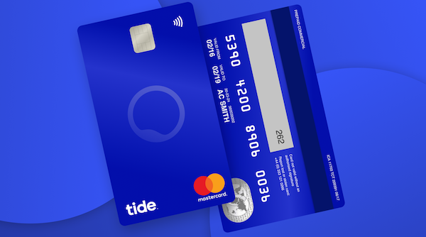 Tide Banking S Vertical Card Design Reflects How People Use Cards Today Designtaxi Com Carte Bancaire Carte Cartes