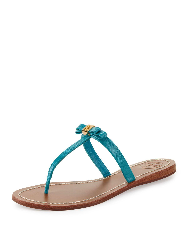 4e01e62dd81 Tory Burch Leighanne Bow Thong Sandal