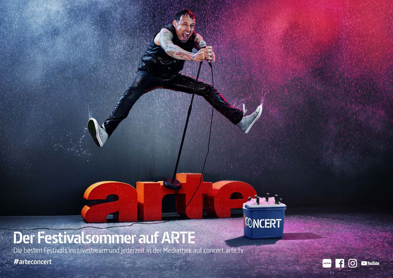 Arte Tv Reportage Robert Grischek Photographed The Latest Campaign For Arte This