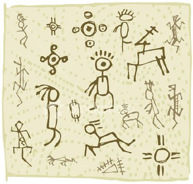 Petroglyphs Dondero Library Pinterest Rock Art Symbols And