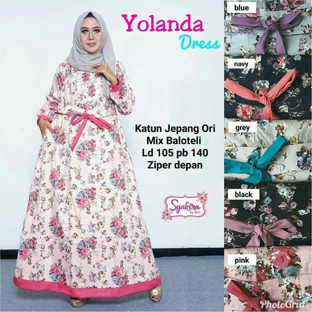 Model Gamis Batik Motif Bunga di 12  Model, Baju hamil, Bunga