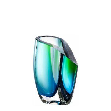 MIRAGE Vase Small Blau/Grün KOSTA BODA: Amazon.de: Küche & Haushalt
