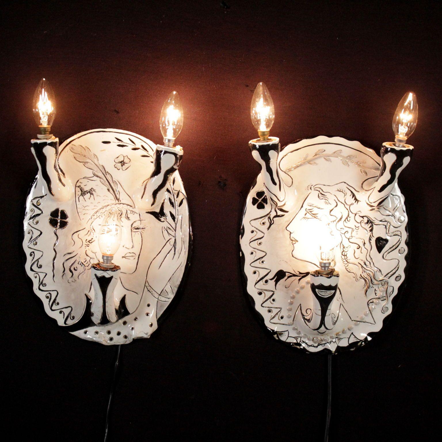 Lampade anni 7080 Lampade, Ceramiche decorative