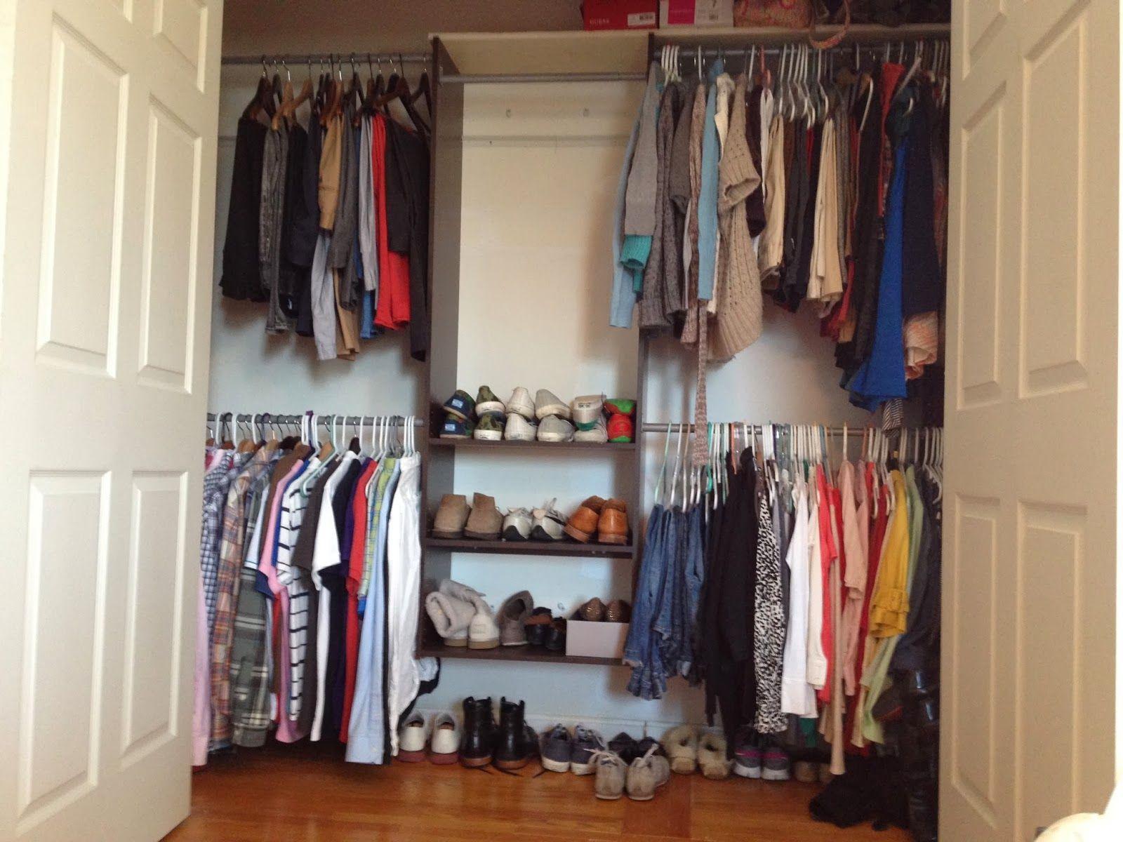 Organizing small closet space closet organization system the organizing small closet space closet organization system the space is put to solutioingenieria Images