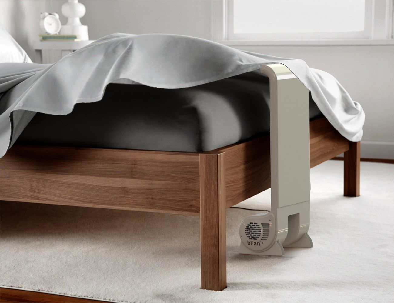 Bfan Air Cooling Bed Fan Replaces Hot Air With Cool Air For A