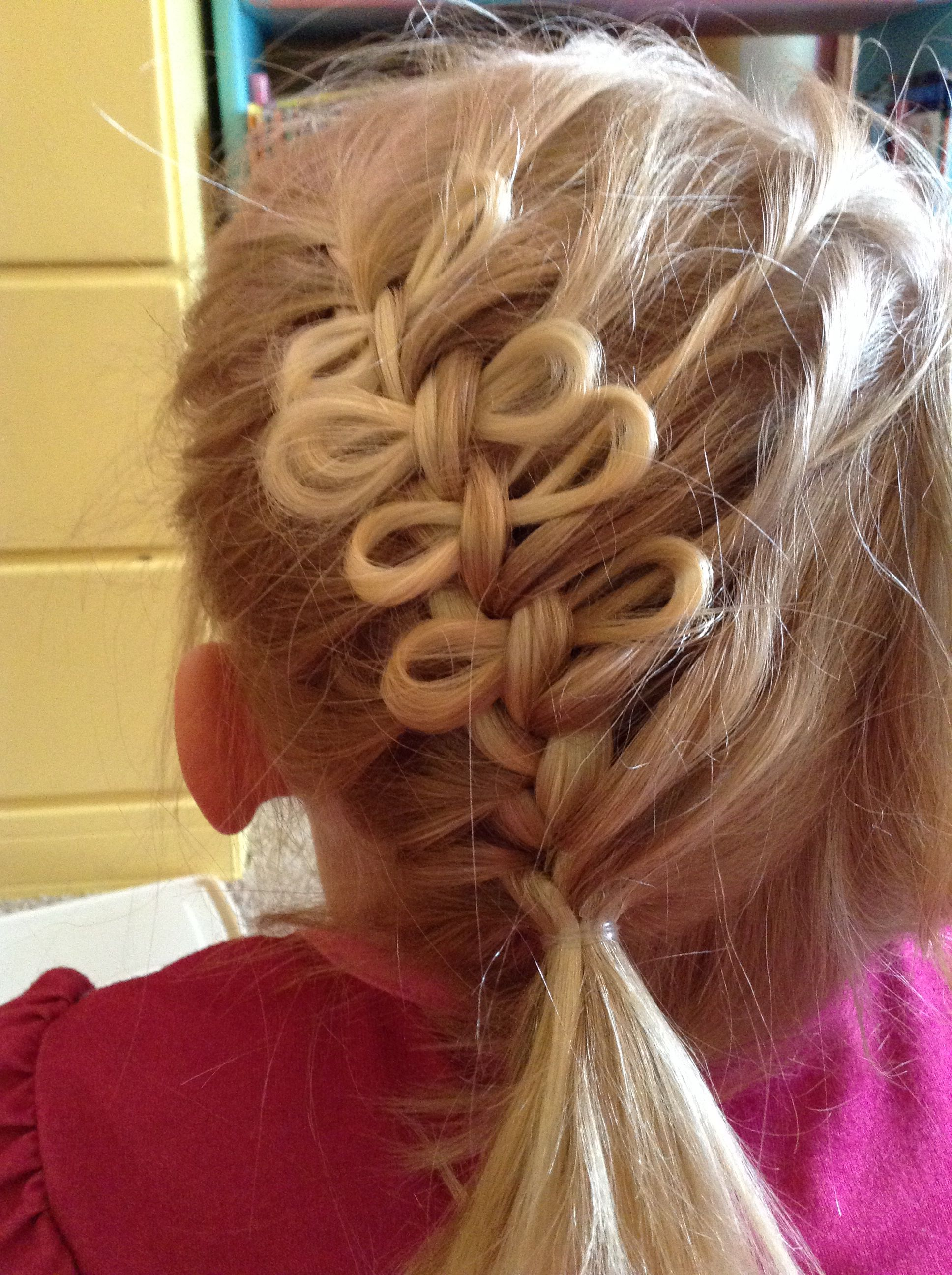 Diy bow braid from cute girls hairstyles works on all hair types