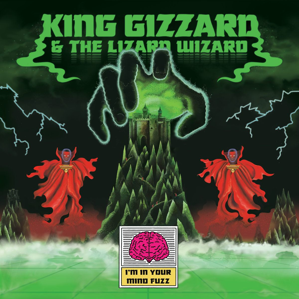 King Gizzard And The Lizard Wizard I M In Your Mind Fuzz 2014 Album Art Album Covers Psychedelic Rock