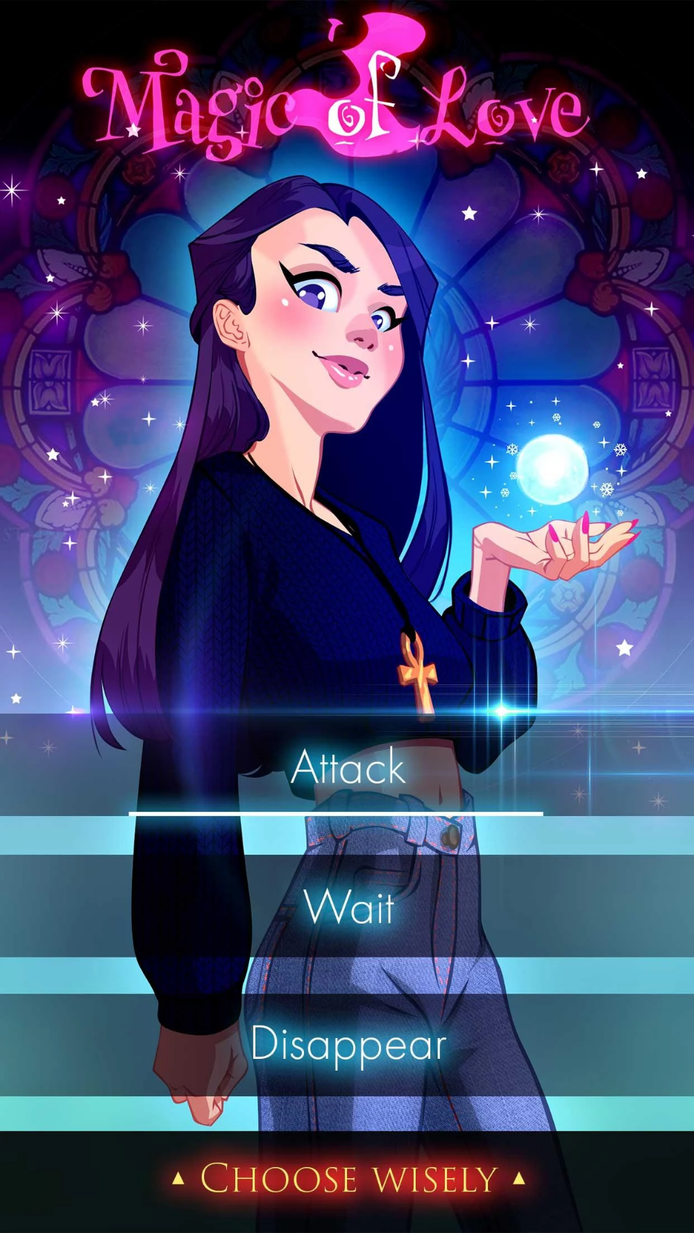 Witch Love Story Games Magic of Love Google Play