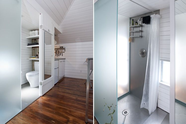 Carriage House Transformed into a Tiny House by Christi Azevedo