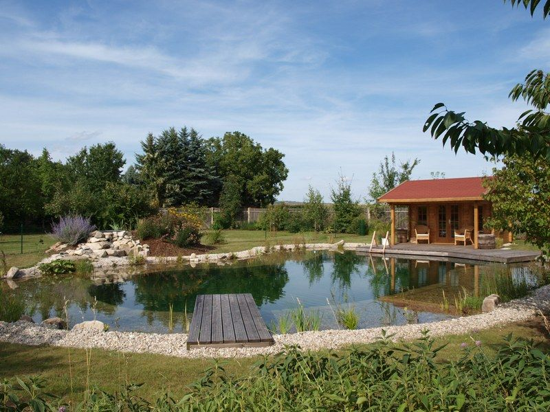 Schwimmteich Fotos, Schwimmteich Bilder, Gartenteich Bilder - gartenteiche an terrasse