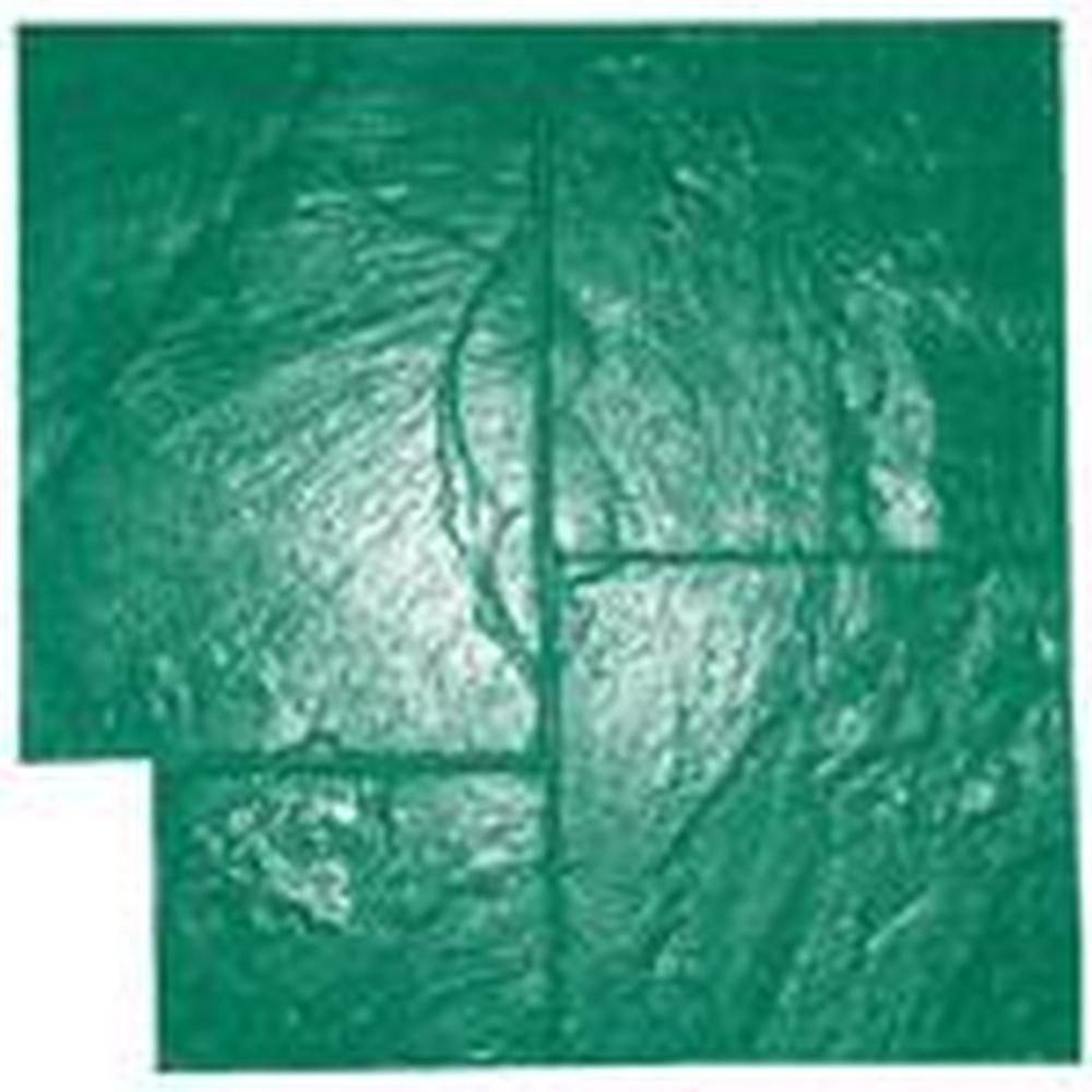 Marshalltown Ashlar Slate Flex Mat Green Concrete Stamp Products