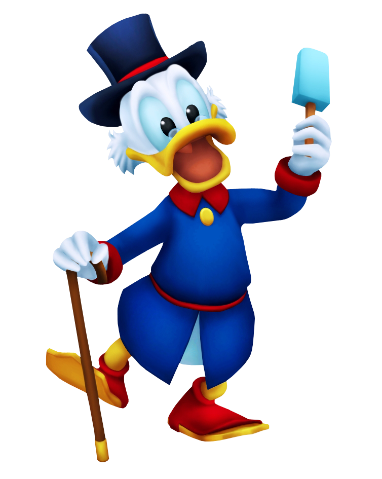 Scrooge Mcduck Kingdom Hearts Insider Scrooge Mcduck Scrooge Kingdom Hearts Characters