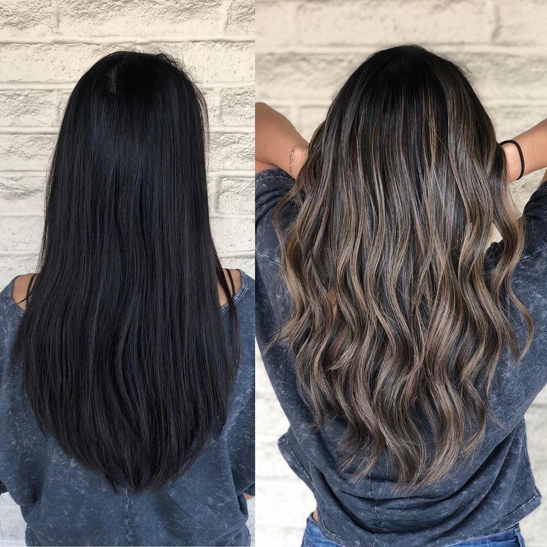 """Photo of Redken en Instagram: """"@andrewlovescolor creó esta hermosa # transformación del cabello con #ShadesEQ Gloss:"""" Me teñí con Shades EQ Gloss 06GI Tenerife + 07V … """""""