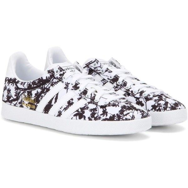 Adidas Gazelle OG Printed Fabric Sneakers ( 105) ❤ liked on Polyvore  featuring shoes b3ac070c1