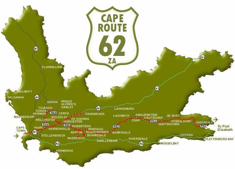 Map Of Route 62 South Africa.Longest Wine Route X South Africa In 2019 South Africa Map Africa