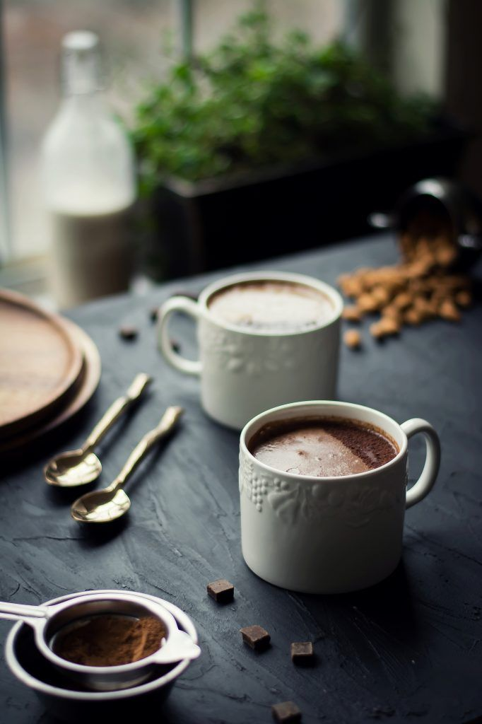 VEGAN Choco Banana Chai Latte #chocolatebananasmoothie