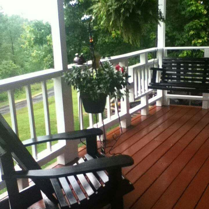 My Beautiful Serene Front Porch