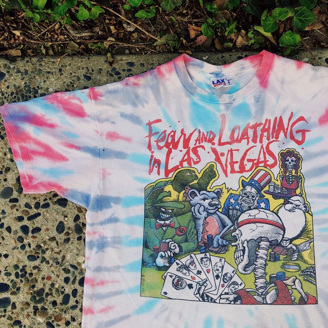 Rare 1995 Fear And Loathing Las Vegas Tee Sold Before I Could Even
