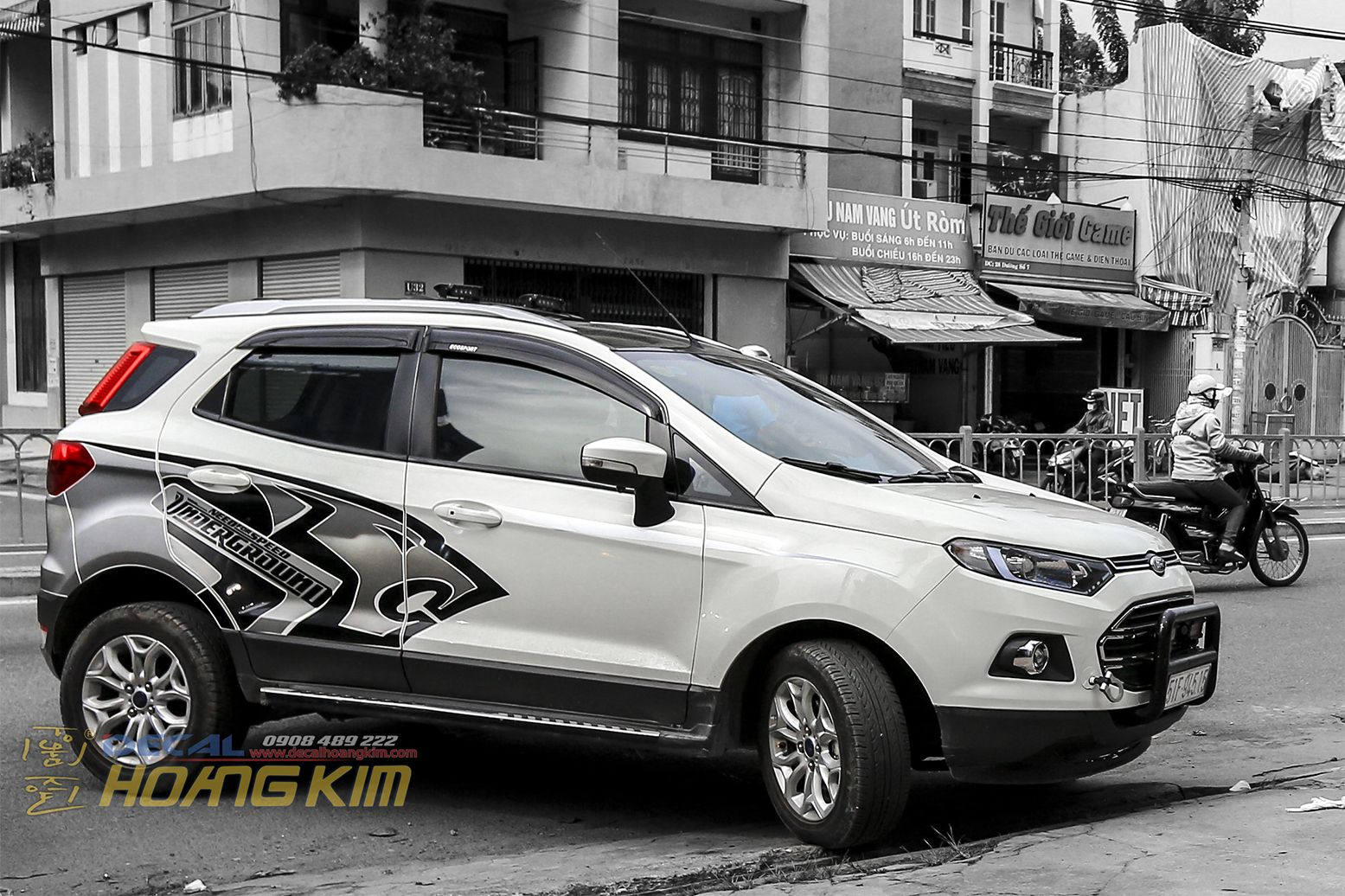 Ford Ecosport Design by Decal Hoàng Kim Ford ecosport