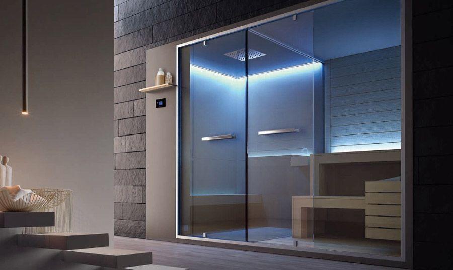 Bagno Di Vapore A Casa : Pin di show room cosentino francesco s.r.l. su shower&wellness