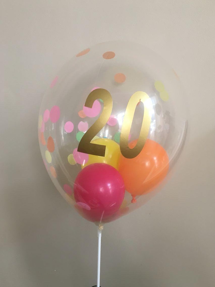 kado 20 jarig huwelijk Kado ballon 20 jaar getrouwd   spreuken   Pinterest kado 20 jarig huwelijk