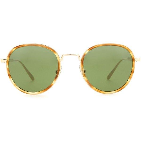 26ad49af3b5e Bottega Veneta Tortoiseshell Glasses ( 500) ❤ liked on Polyvore featuring  accessories