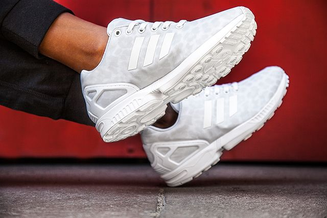 new product 54cfe 93b5e ADIDAS ZX FLUX WMNS (LEOPARD PACK)   Sneaker Freaker