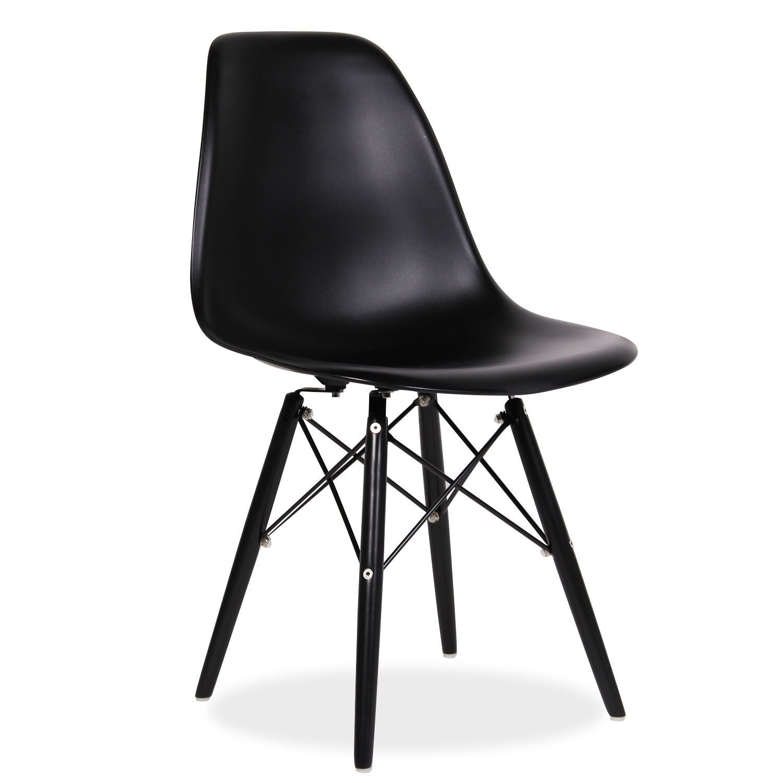 Inspir par la chaise dsw de charles ray eames la for Chaise pied tour eiffel