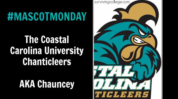 Mascot Monday The Coastal Carolina Chanticleers They Re Really Badass Roosters Coastal Carolina Coastal Carolina University Coastal