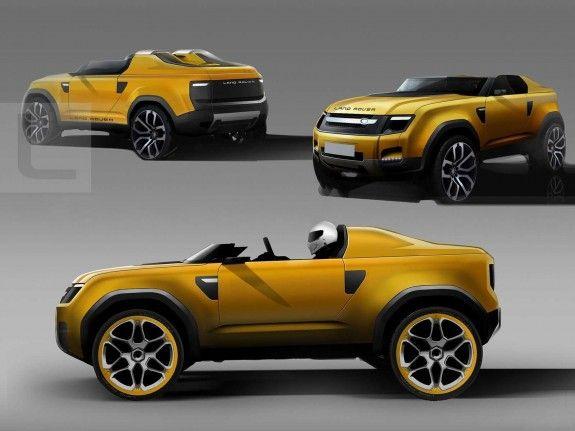 2011 Land Rover DC100 Sport Concept Car   Yellow Cars   Pinterest ...
