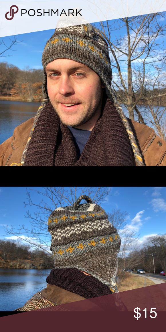 65ff87f0688 woolen handmade hat unisex winter hat snow🎩 Handmade Unisex Sherpa vintage Wool  Hat