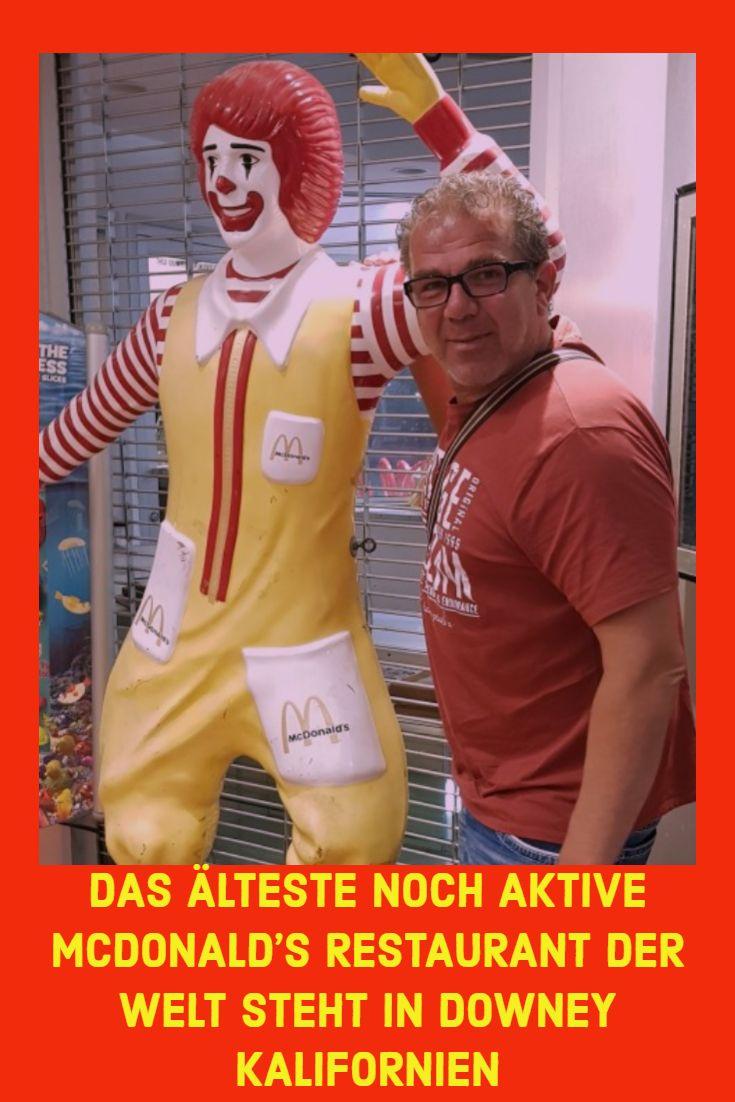 Photo of DAS ÄLTESTE NOCH AKTIVE MCDONALD'S RESTAURANT DER WELT STEHT IN DOWNEY KALIFORNIEN1